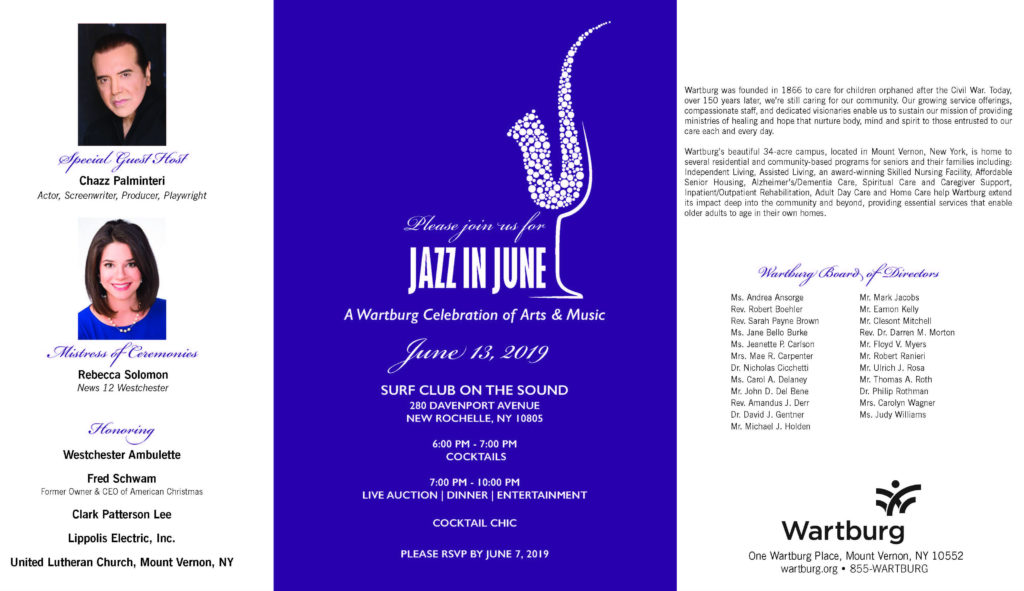 Jazz In June 2019 Invite